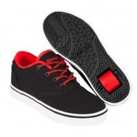 Heelys Chaussures Heelys Launch Black/Black/Red 2017771016