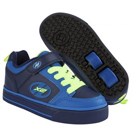 Heelys Chaussures X2 Thunder Navy/Royal/Neon Yellow 2017770480
