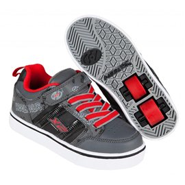 Heelys Chaussures X2 Bolt Black/Grey/Red 2017770795