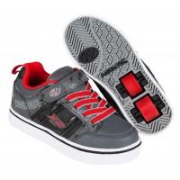 Heelys Chaussures X2 Bolt Black/Grey/Red 2017770795