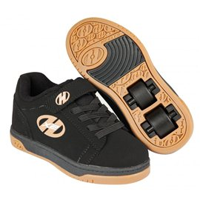 Heelys Chaussures X2 Dual Up Black/Gum 2017770582