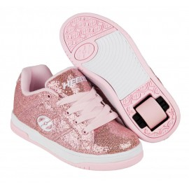 Heelys Chaussures Split Light Pink Disco Glitter 2017