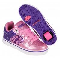 Heelys Chaussures Motion Purple/Pink Glitter 2017770818