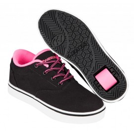 Heelys Chaussures Launch Black/Neon Pink/White 2017