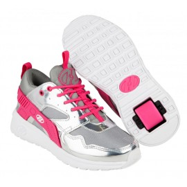 Heelys Chaussures Force Silver/Grey/Pink 2017771041