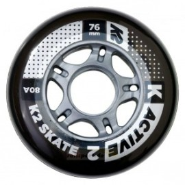 K2 76 Mm Active Wheel 4-pack 2017
