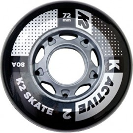 K2 76mm Wheels 8-pack With Ilq 7 Aluminum Spacers