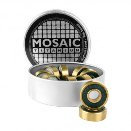 Mosaic Super Titanium 1 Abec 7 608RS Black Mosaic Bearings 2017