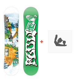 Snowboard Flow Micron Mini 2015 + FixationFD14Y3MINI