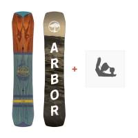 Snowboard Arbor Westmark Rocker 2017 + Fixation