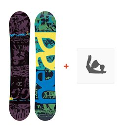Snowboard Head Evil Youth 2018 + Fixations336326
