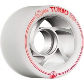 Rollerbones Quad Wheels Turbo Aluminium White/Red 2017