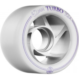 Rollerbones Quad Wheels Turbo Aluminium White/Purple 2017