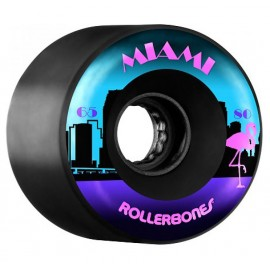 Rollerbones Quad Wheels Miami Outdoor Black 2017