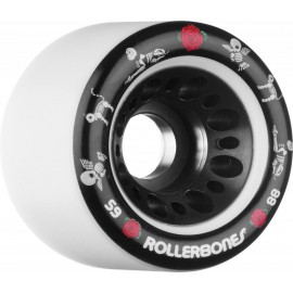 Rollerbones Quad Wheels Pet Day of the Dead white 2017