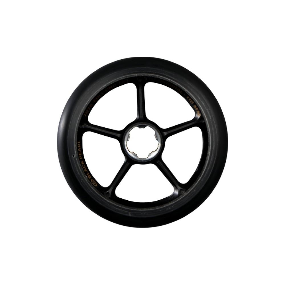 blackpearl wheels 110mm single layer black 2017. Black Bedroom Furniture Sets. Home Design Ideas