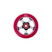 Crisp 5 Spoke Wheel 100 mm Red on Black 2017