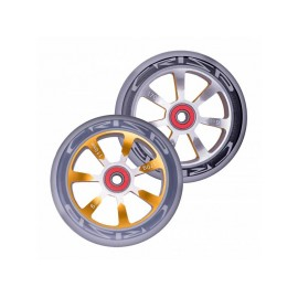 Crisp Hollowtech Spoked Wheels 110mm, Silver, Gold, Grey, Pair 20171216554
