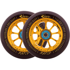River Logan The Angler Fuller Complete Scooter Wheels 2-pack 2017