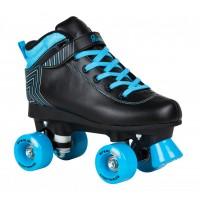 Rookie Rollerskates Starlight Black Blue