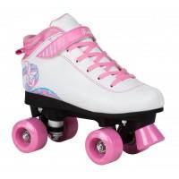 Rookie Rollerskates Rhythm White Pink