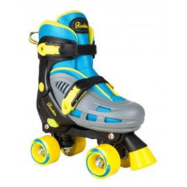 Rookie Adjustable Skate Duo Junior Blue Yellow