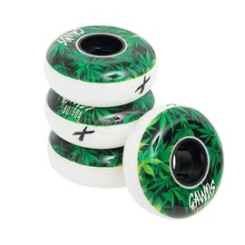 Gawds Pro Wheels Team Weed 57mm / 89a, 4-Pack