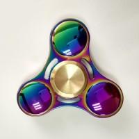 Hand Spinner Aluminium Premium Rainbow