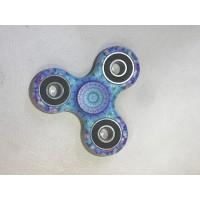 Hand Spinner Woodstock / Bleu