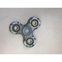 Hand Spinner Woodstock / Bleu-Noir