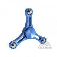 Hand Spinner Tri Metal Fidget Spire / Blue 2017
