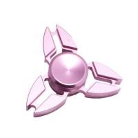 Hand Spinner Tri Metal Fidget Ninja / Pink 2017