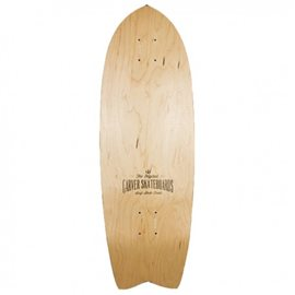 "Surf Skate Carver Swallow Clearwood 29\"" Deck Only"