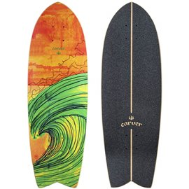 "Surf Skate Carver Swallow 29"" Deck Only 2017"