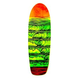 "Surf Skate Carver Stacked 31.25\"" Deck Only"