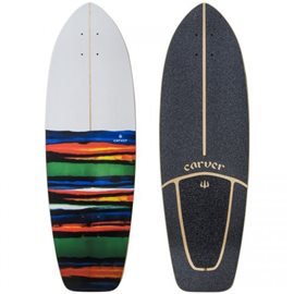 "Surf Skate Carver Resin 31\"" Deck Only"