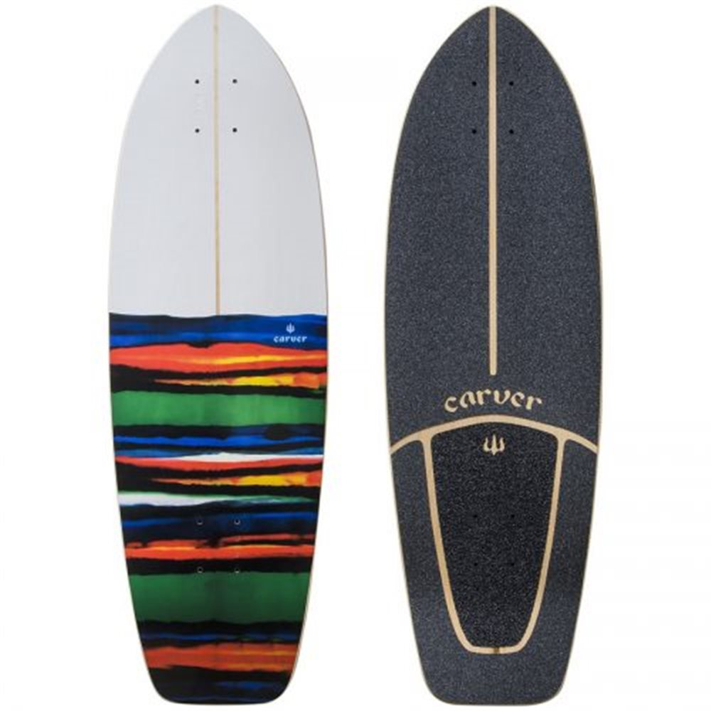"""Surf Skate Carver Resin 31"""" Deck Only"""
