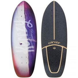 "Surf Skate Carver Kerrzy Snapper 28"" Deck Only"