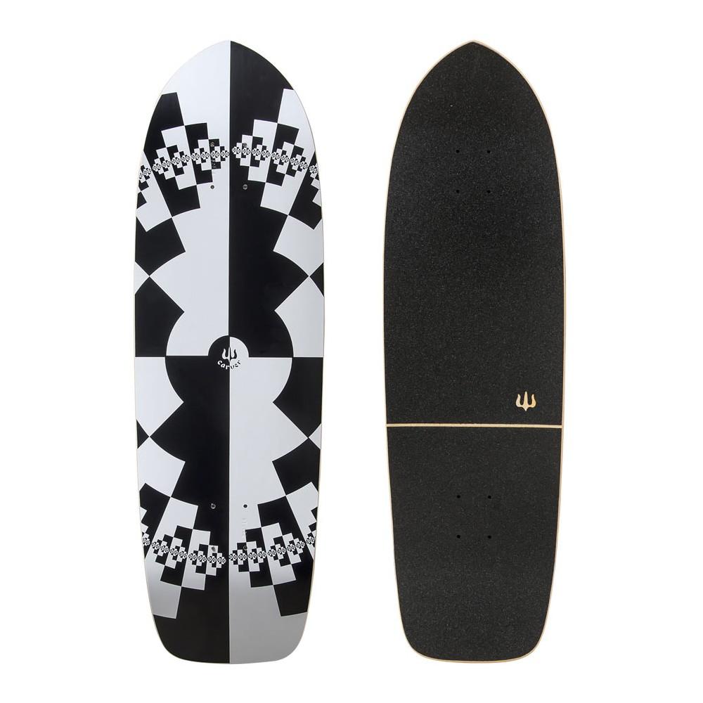 """Surf Skate Carver Fraktal 32"""" Complete"""