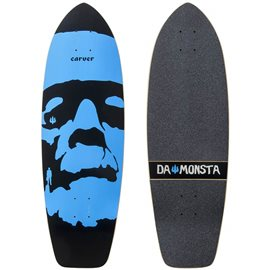 "Surf Skate Carver Da Monsta 31\"" Deck Only"