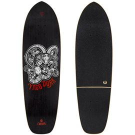"Surf Skate Carver 33.5 Yoga Dora Pro Model 33.5\"" Deck Only"