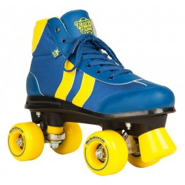 Rookie Rollerskates Retro V2 Blue/Yellow 2017