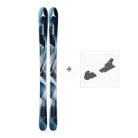 Ski Atomic Vantage Wmn 90 Cti 2018 + Fixation de skiAA0026616
