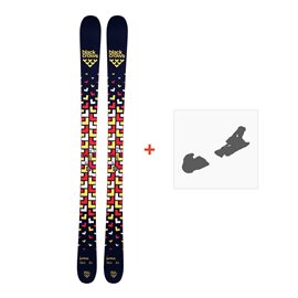 Ski Black Crows Junius 2018 + Fixation de ski