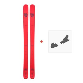 Ski Black Crows Camox Freebird 2018 + Fixation de ski