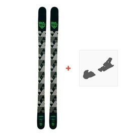 Ski Black Crows Magnis 2018 + Fixation de ski