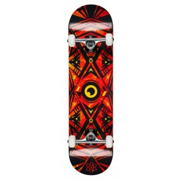 Rocket Complete Skateboard Surveillance Series Flames 2017RKT-COM-1518