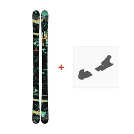 Ski Line Chronic 2018 + Fixation de ski