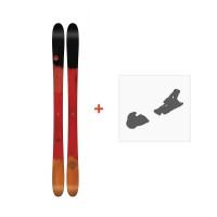 Ski Line Mordecai 2018 + Fixation de ski19B0002.101.1