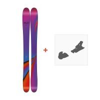 Ski Line Pandora 110 2018 + Fixation de ski19B0200.101